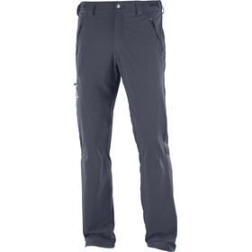 Salomon Wayfarer broek Heren regular grijs